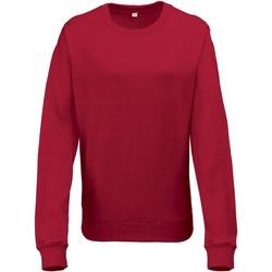 Textiel Dames Sweaters / Sweatshirts Awdis Heather Rode Heide