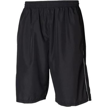 Textiel Heren Korte broeken / Bermuda's Tombo Teamsport Longline Zwart/Wit