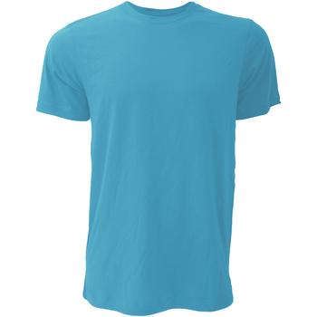 Textiel Heren T-shirts korte mouwen Bella + Canvas Jersey Heather Aqua