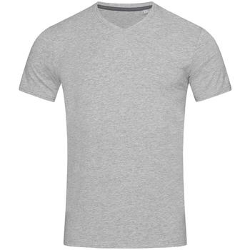Textiel Heren T-shirts korte mouwen Stedman Stars Clive Heide Grijs