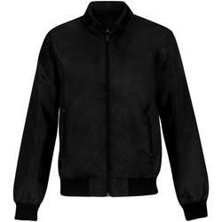 Textiel Heren Wind jackets B And C Trooper Zwart/Kobaltblauw