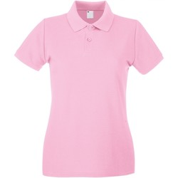 Textiel Dames Polo's korte mouwen Universal Textiles Casual Baby Roze