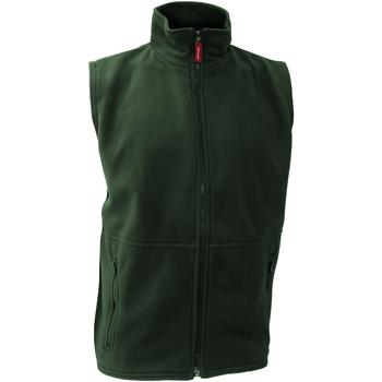Textiel Heren Vesten / Cardigans Result Active Bosgroen