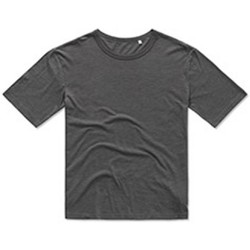 Textiel Heren T-shirts korte mouwen Stedman Stars Organic Donkergrijs