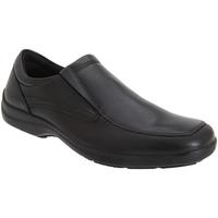 Schoenen Heren Mocassins Imac Gusset Zwart