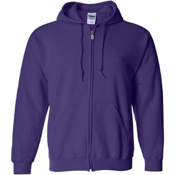Textiel Heren Sweaters / Sweatshirts Gildan Hooded Paars