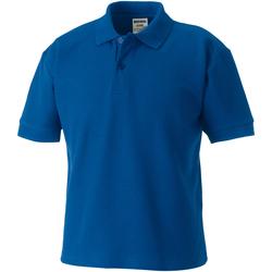 Textiel Kinderen Polo's korte mouwen Jerzees Schoolgear 65/35 Helder Koninklijk