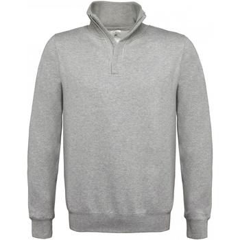 Textiel Heren Sweaters / Sweatshirts B And C ID.004 Heide Grijs