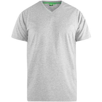 Textiel Heren T-shirts korte mouwen Duke Signature Grijze Melange