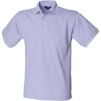 Textiel Heren Polo's korte mouwen Henbury HB400 Lavendel