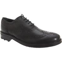 Schoenen Heren Klassiek Roamers Oxford Zwart
