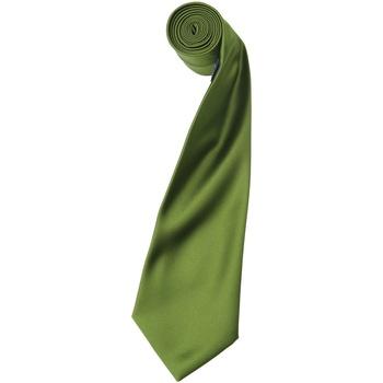 Textiel Heren Krawatte und Accessoires Premier Satin Oase Groen