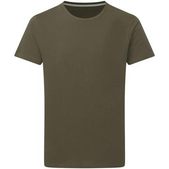 Textiel Heren T-shirts korte mouwen Sg Perfect Militair Groen