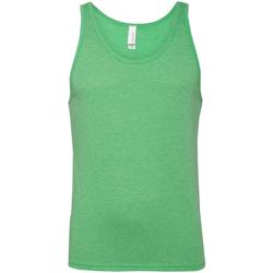 Textiel Dames Mouwloze tops Bella + Canvas Jersey Groene Triblend
