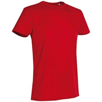 Textiel Heren T-shirts korte mouwen Stedman Active Rood