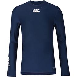 Textiel Kinderen T-shirts met lange mouwen Canterbury CN360B Marine