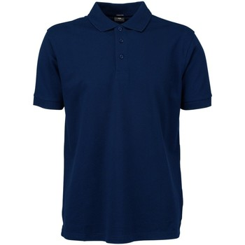 Textiel Heren Polo's korte mouwen Tee Jays Stretch Marineblauw