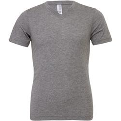 Textiel Heren T-shirts korte mouwen Bella + Canvas Canvas Grijze Triblend