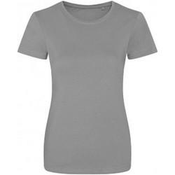 Textiel Dames T-shirts korte mouwen Ecologie Organic Heide