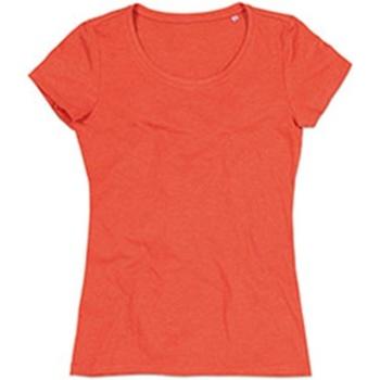 Textiel Dames T-shirts korte mouwen Stedman Stars Lisa Pompoen Heide