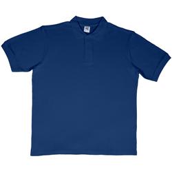Textiel Heren Polo's korte mouwen Sg SG50 Marineblauw