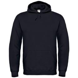 Textiel Dames Sweaters / Sweatshirts B And C Hooded Zwart