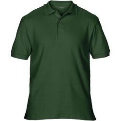 Textiel Heren Polo's korte mouwen Gildan Premium Forest Groen