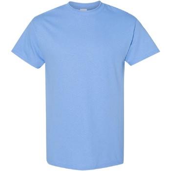 Textiel Heren T-shirts korte mouwen Gildan Heavy Carolina Blauw