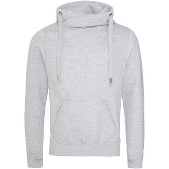 Textiel Heren Sweaters / Sweatshirts Awdis JH021 Heide Grijs
