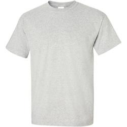 Textiel Heren T-shirts korte mouwen Gildan Ultra Asgrijs