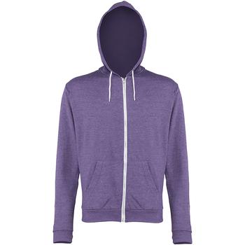 Textiel Heren Sweaters / Sweatshirts Awdis Hooded Paarse heide