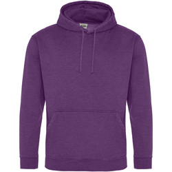 Textiel Sweaters / Sweatshirts Awdis Washed Gewassen Paars