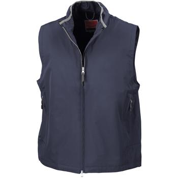Textiel Heren Vesten / Cardigans Result Gilet Marineblauw