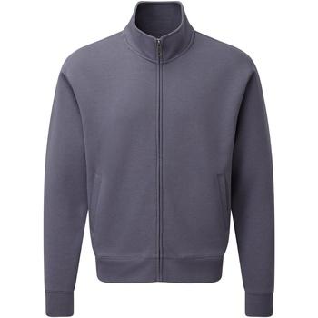 Textiel Heren Vesten / Cardigans Russell J267M Konvooi Grijs