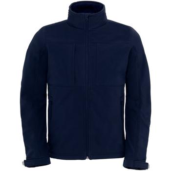 Textiel Heren Windjacken B And C Softshell Marineblauw