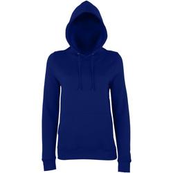 Textiel Dames Sweaters / Sweatshirts Awdis Girlie Nieuwe Franse marine
