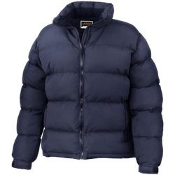 Textiel Dames Dons gevoerde jassen Result Performance Marineblauw