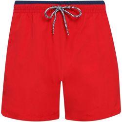 Textiel Heren Korte broeken / Bermuda's Asquith & Fox AQ053 Rood/Zwaar
