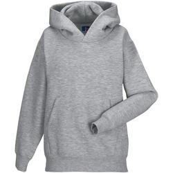 Textiel Kinderen Sweaters / Sweatshirts Jerzees Schoolgear Hooded Licht Oxford