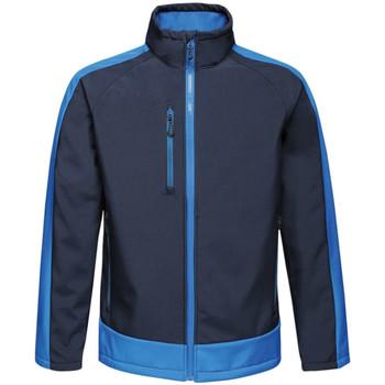 Textiel Heren Wind jackets Regatta RG422 Marine/Nieuw Koninklijk