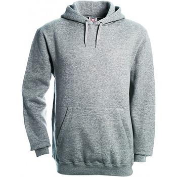 Textiel Heren Sweaters / Sweatshirts B And C Hooded Heather Grijs