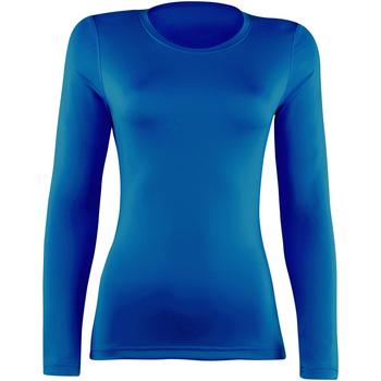 Textiel Dames T-shirts met lange mouwen Rhino RH003 Koninklijk