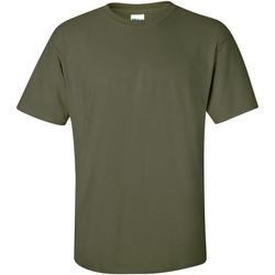 Textiel Heren T-shirts korte mouwen Gildan Ultra Militair Groen