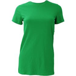 Textiel Dames T-shirts korte mouwen Bella + Canvas BE6004 Kelly Groen