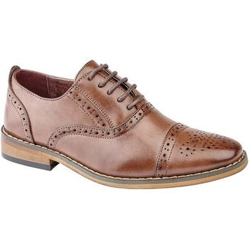 Schoenen Jongens Klassiek Goor Oxford Midden-Bruin