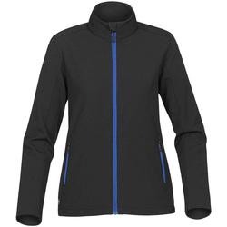 Textiel Dames Wind jackets Stormtech Softshell Zwart/Azuurblauw