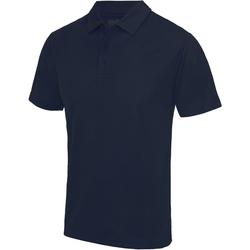 Textiel Heren Polo's korte mouwen Just Cool JC040 Franse marine
