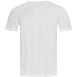 Textiel Heren T-shirts korte mouwen Stedman Stars Shawn Wit