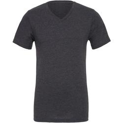 Textiel Heren T-shirts korte mouwen Bella + Canvas Jersey Donkergrijze heide