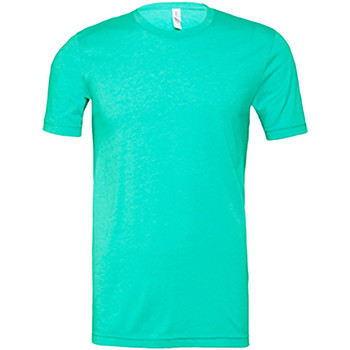 Textiel Heren T-shirts korte mouwen Bella + Canvas Jersey Heather Zee Groen